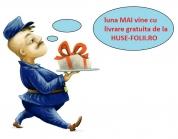 PROMOTIE! Huse-Folii.ro iti livreaza produsele gratuit