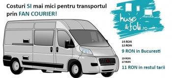 Costuri SI mai mici la transportul prin Fan Courier!