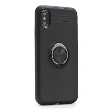 Forcell RING Case for HUAWEI P30 black