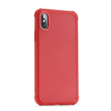 Roar Armor Carbon - for Iphone 11 red