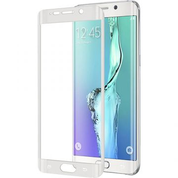 Folie Protectie Celly Tempered Glass WH Samsung Galaxy S6 Edge