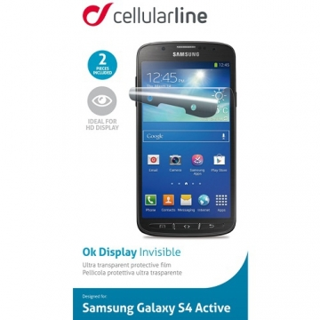 Folie Protectie Cellularline Samsung Galaxy S4 Active