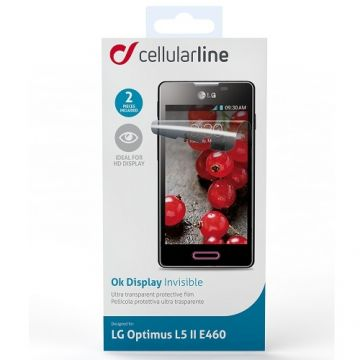 Folie Protectie Cellularline LG Optimus L5 II