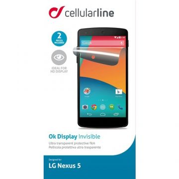 Folie De Protectie Transparenta CELLULARLINE SPLGNEXUS5 Lg Nexus 5
