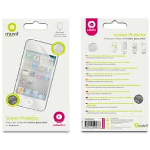 Folie Protectie Muvit 2 buc. Simpla/Glossy iPod Touch 4