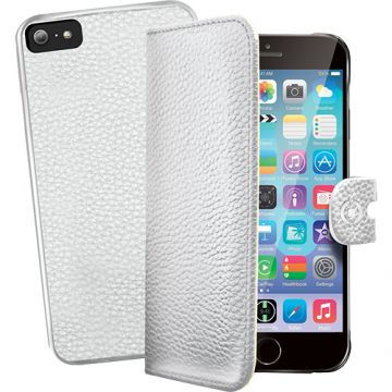 Husa Agenda CELLY Ambo+ Capac Spate Detasabil Alb AMBO600WH APPLE iPhone 6, iPho