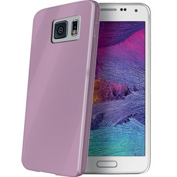 Husa Capac spate CELLY Ultrasubtire Violet THINGS6VI SAMSUNG Galaxy S6