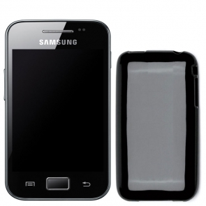Carcasa Celly TPU Neagra Samsung Galaxy Ace