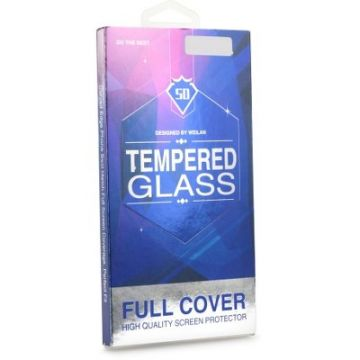 5D Full Glue Tempered Glass - for Samsung Galaxy S9 Plus (Case Friendly) black
