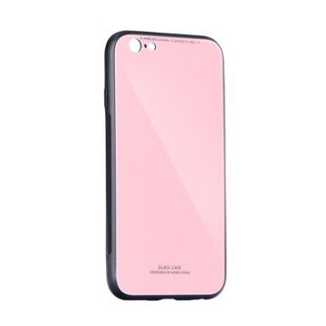 GLASS Case for SAMSUNG Galaxy A40 pink