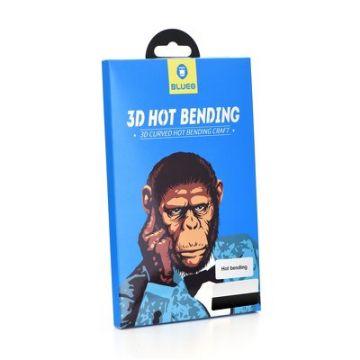 3D Mr. Monkey Glass - SAM Galaxy NOTE 10 black (Hot Bending)