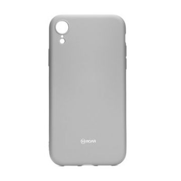 Roar Colorful Jelly Case - for Iphone XR grey