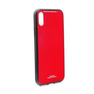 GLASS Case for HUAWEI MATE 20 PRO red