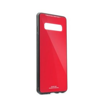GLASS Case for SAMSUNG Galaxy S10 red