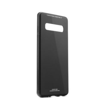 GLASS Case for SAMSUNG Galaxy S10 Plus black