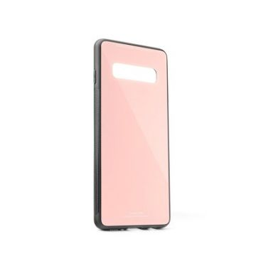 GLASS Case for SAMSUNG Galaxy S10 pink