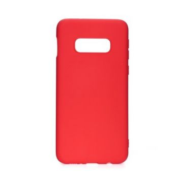 Forcell SOFT Case for SAMSUNG Galaxy S10e / S10 Lite red