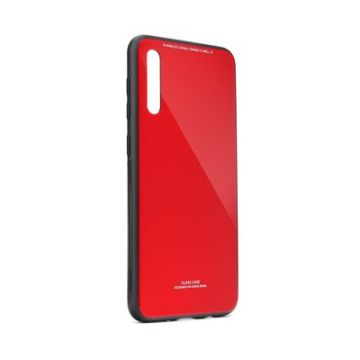 GLASS Case for SAMSUNG Galaxy A70 / A70s red