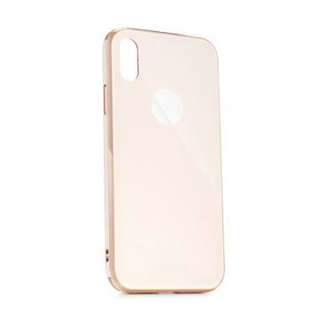 Forcell GLASS Premium Case for SAMSUNG Galaxy A40 rose gold
