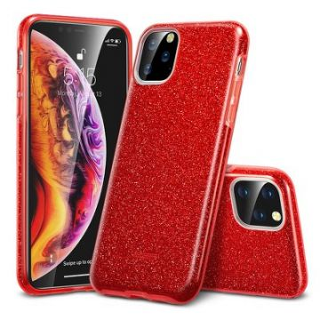 ESR Makeup Glitter case for iPhone 11 ( 6.1 ) red