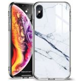 ESR Mimic- Marble case for Iphone XR white