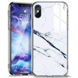 ESR Mimic- Marble case for Iphone X / XS white
