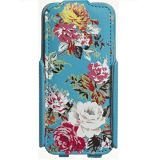 Husa Flip Accessorize Blue Rose iPhone 5