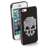 Carcasa Cellularline Skull Neagra iPhone 5