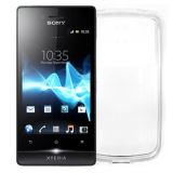 Carcasa Celly TPU Transparenta Sony Xperia Miro