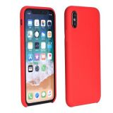 Forcell Silicone Case for HUAWEI P30 Lite red