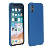 Forcell Silicone Case for SAMSUNG Galaxy A40 dark blue