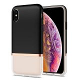 SPIGEN La Manon Jupe for Iphone XS Max milk black